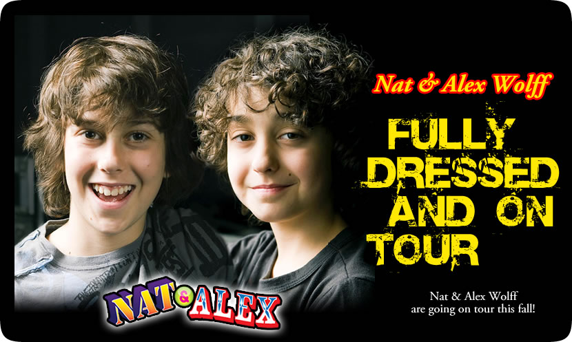 Sibling duo nat alex wolff to perform