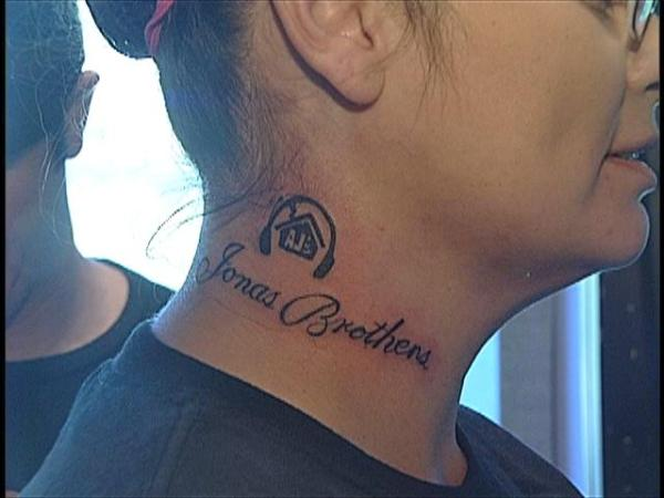 Advanced Search jonas brothers tattoo